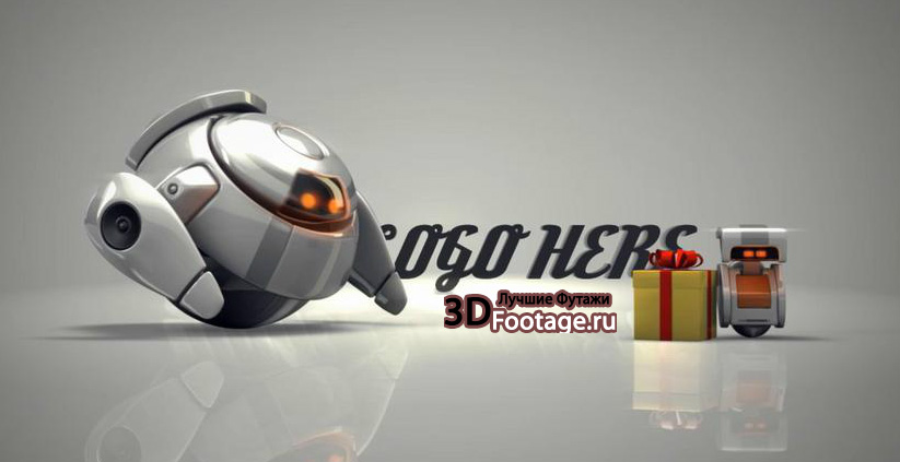 VideoHive - Robots 3D gifts special - 3DFootage.ru