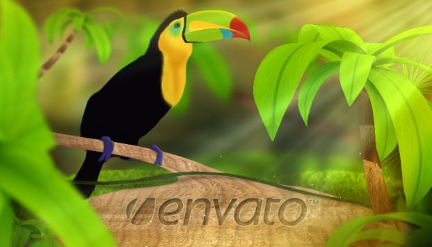 VideoHive - Wild Nature Logo Reveal 3DFootage.ru