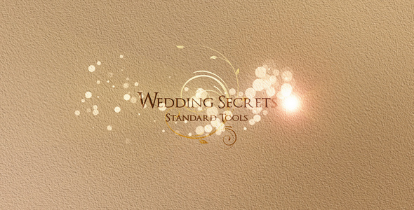 Weddings Secrets After Effects Project files