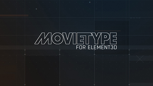 MovieType for Element 3D