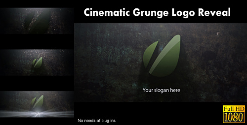 Cinematic Grunge Logo Reveal Preview