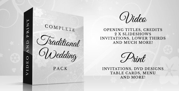 Traditional Wedding Pack PrevImage