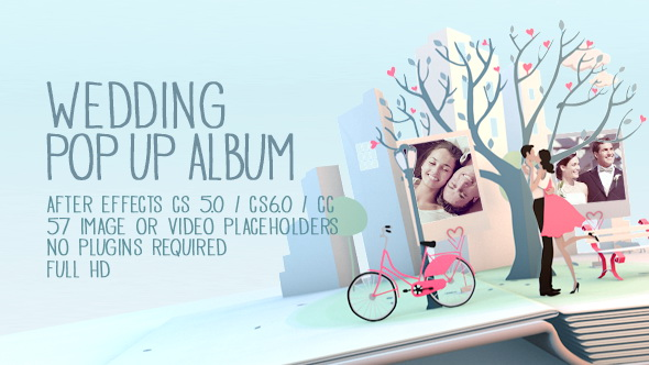 Videohive - Wedding Pop Up Album