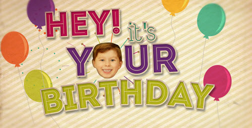 videohive hey its your birthday after effects project