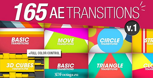 165 Transitions Pack v1 Preview