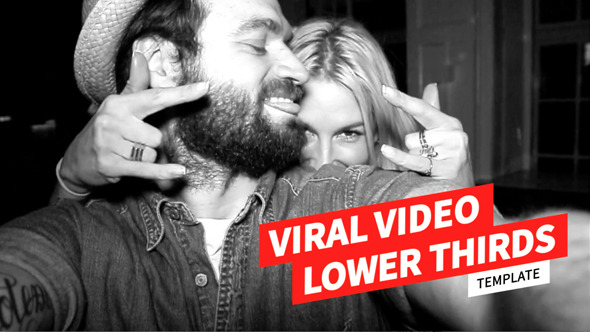 Viral video Lower thirds Preview
