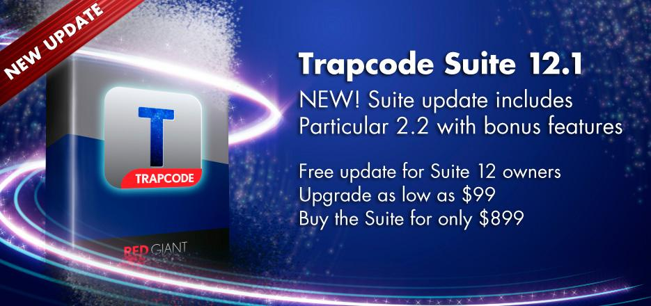 screenshot trapcode suite 12.1