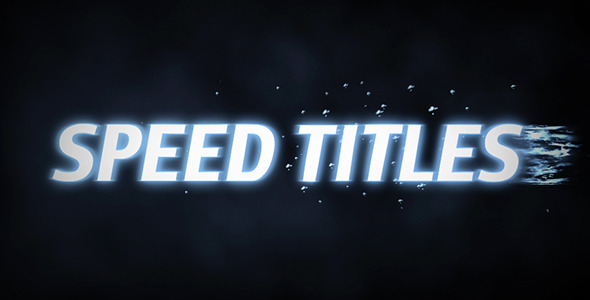 Speed Titles image