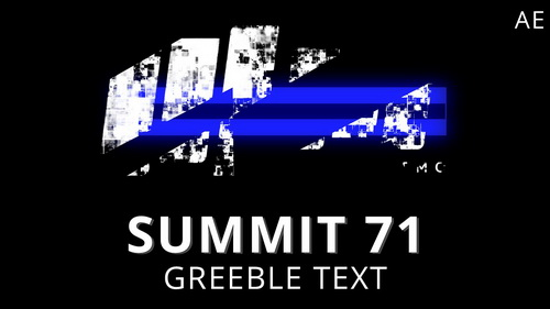 Summit 71 Greeble Text After Effects