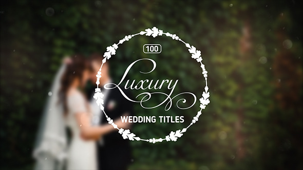 100 Luxury Wedding Titles