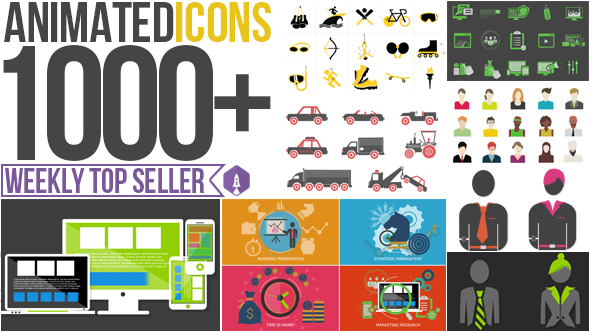 Animated Icons 1000