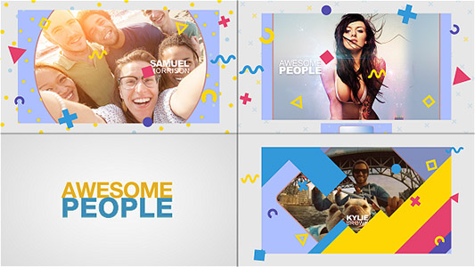 Awesome People Slideshow
