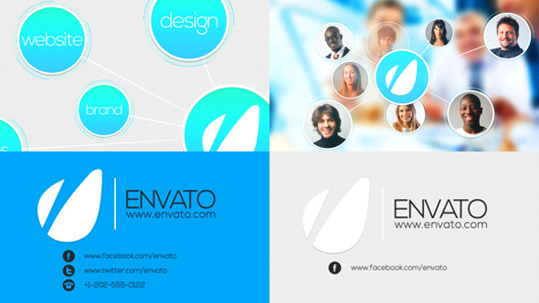 Intro Identity for Company Logo Preview