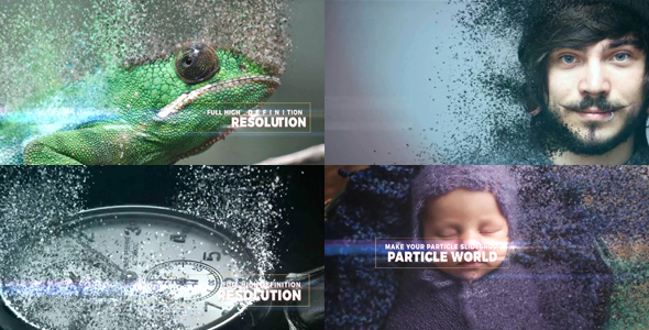 Particle World Slideshow