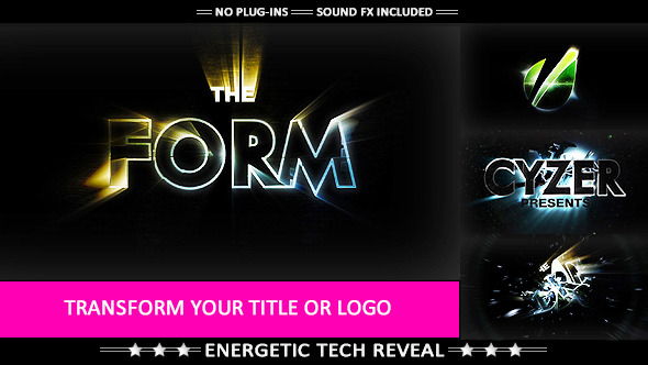 The Form Hi tech Impact Logo Transformation image