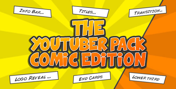 The YouTuber Pack Comic Edition