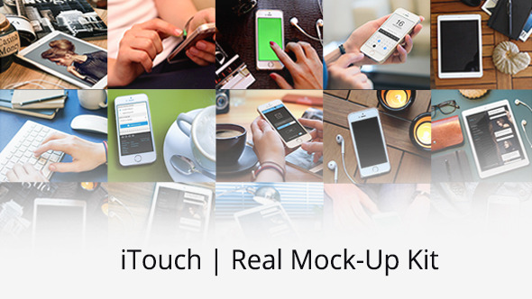 iTouch Real Mock Up Kit