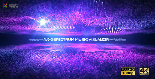 Audio Spectrum Music Visualizer image
