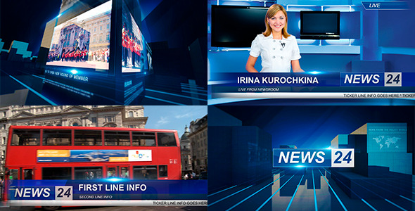 Broadcast News Package Images
