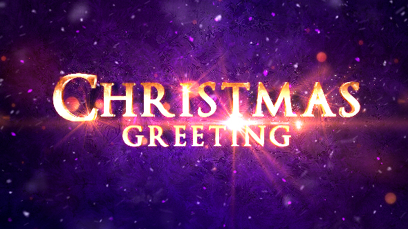 Christmas Greeting Titles Image
