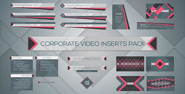 Corporate Video Inserts Pack Image