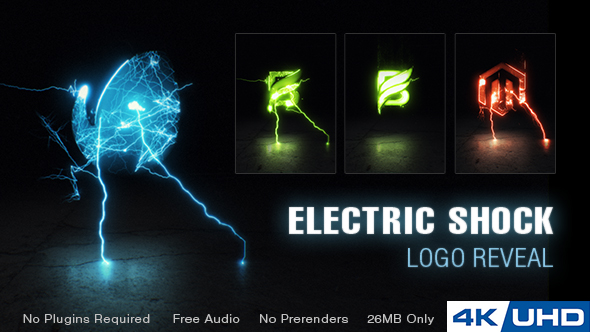 Electric Shock Logo Reveal Image
