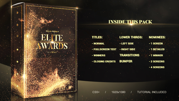 Elite Awards Pack Image
