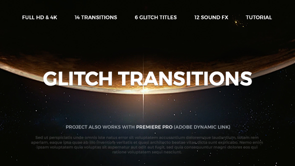 Glitch Transitions Image