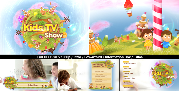 Kids TV Show Pack Image