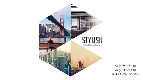 Stylish Photo Openers Logo Reveal Image