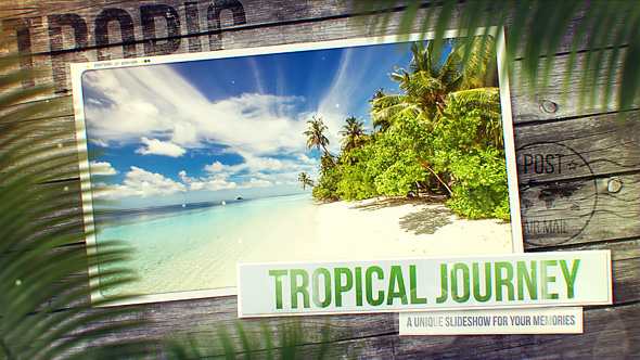 Tropical Journey Slideshow preview