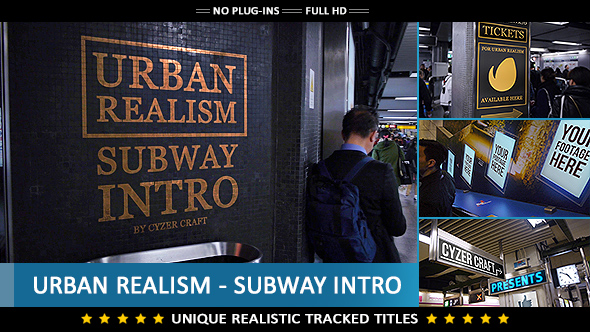 Urban City Commercial Intro Image