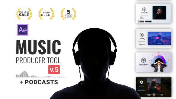 Audio Visualization Music Producer Tool Preview image v5