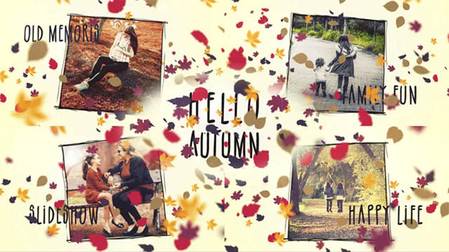 Hello Autumn Slideshow