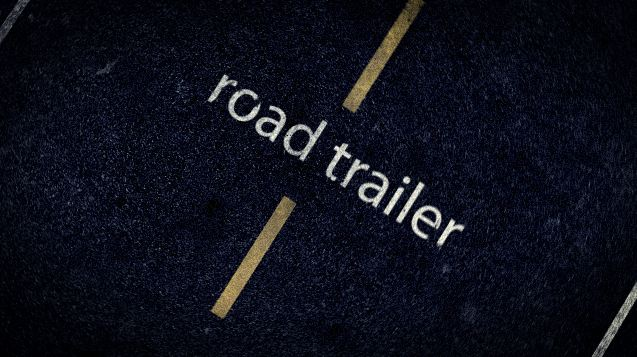 Road trailer 3dfootage.ru